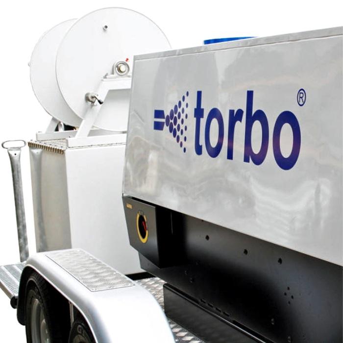 TorboCar AC84 piaskarka na przyczepie